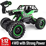 Double E 1/12 RC Rock Crawler Remote Control Truck 4WD Rechargeable Vehicles Off-Road Car (Color: 4x4 Off-road Rock Crawler)