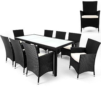 Salon de jardin polyrotin polyrotin 8 chaises - Salon de jardin modulable siena polyrotin ...