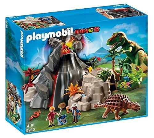 PLAYMOBIL-Volcano-with-Tyrannosaurus-by-PLAYMOBIL
