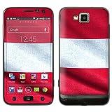 """atFoliX Designfolie """"�sterreich Flagge"""" f�r Samsung Ativ S (GT-I8750) - ohne Displayschutzfolievon """"Designfolien@FoliX"""""""