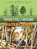 img - for Painting Trees and Landscapes in Watercolor (Dover Art Instruction) book / textbook / text book