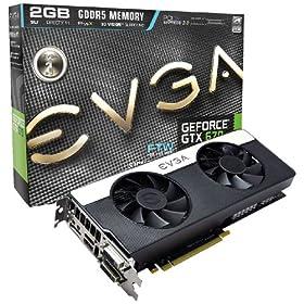 EVGA GeForce GTX670 FTW Signature2 2048MB GDDR5 256-Bit, Dual DVI-D, HDMI, DP and 4-Way SLI Ready GPU Graphics Card 02G-P4-3677-KR