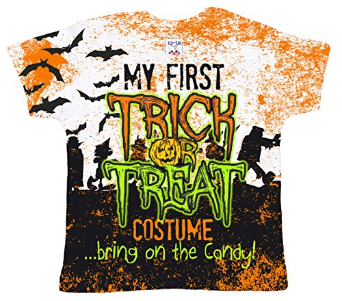 Dirty Fingers, Halloween My First Trick or Treat Costume, Baby Girl T-shirt