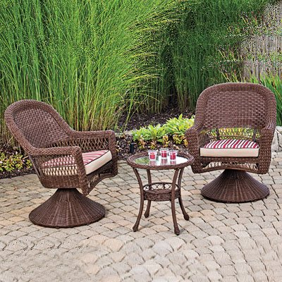 WILSON & FISHER OUTDOOR PATIO FURNITURE SET INDOOR OUTDOOR