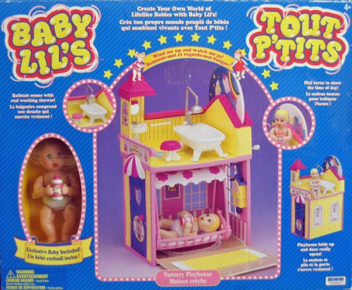 Baby Lil's Nursery Playhouse - Buy Baby Lil's Nursery Playhouse - Purchase Baby Lil's Nursery Playhouse (Baby Lil's Nursery Playhouse, Toys & Games,Categories,Dolls,Playsets,Fashion Doll Playsets)