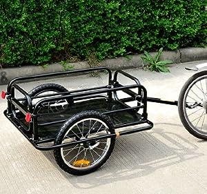 Amazon.com : Wanderer para bicicleta de carga / equipaje Trailer