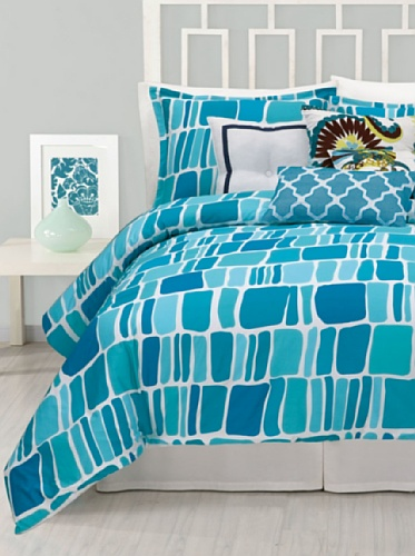 Trina Turk 'Stones' Duvet Cover & Shams Set back-775053