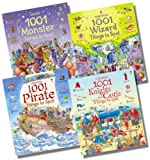 Teri Gower Usborne 1001 Things to Spot Boy's Collection - 4 Books RRP £31.96 (1001 Knights and Castle Things to Spot; 1001 Wizard Things to Spot; 1001 Monster Things to Spot; 1001 Pirate Things to Spot)