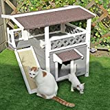 Petsfit Draußen Katzenhaus mit Terrasse