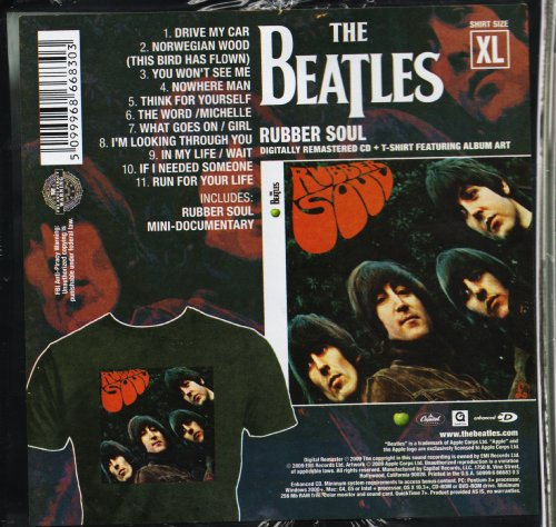 Rubber Soul (Deluxe Crate Edition With T-Shirt)
