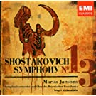 CHOSTAKOVITCH : Symphonie n� 13