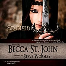 Seonaid: The Handfasting, Book 2 Audiobook by Becca St.John Narrated by Steve Worsley