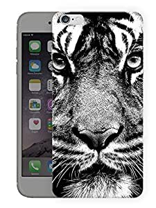 """Humor Gang Tiger Messed Up FacePrinted Designer Mobile Back Cover For """"Apple Iphone 6 PLUS - 6S PLUS"""" (3D, Matte, Premium Quality Snap On Case)..."""