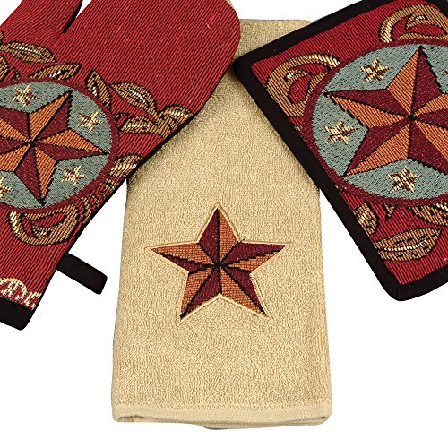Western Star Terry Towel - Rustic Kitchen Tableware (Rustic Kitchen Ware compare prices)