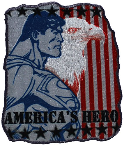 Application DC Comics Superman American Hero Patch
