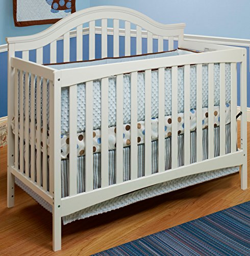 Sorelle Lynn Crib with Mini Rail, White