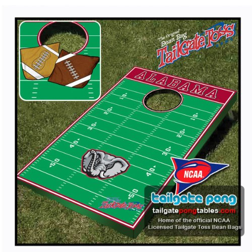 Alabama UA Crimson Tide College Tailgate Toss Cornhole Game - FREE SHIPPING