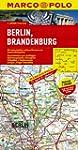 MARCO POLO Karte Berlin, Brandenburg...