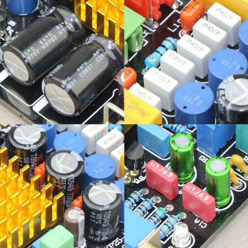 DROK® TA2021 Digital Amplifier DIY Kit 12V 2ch Audio stereo Power Amp Board DC 11-14.5V topping tp10 mk4 ta2024 digital hifi amplifier amp