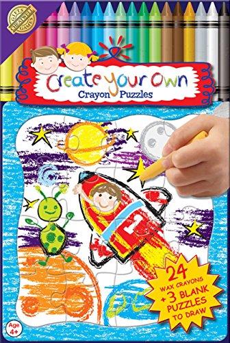 Crea il tuo puzzle con 24 Colorato Crayons