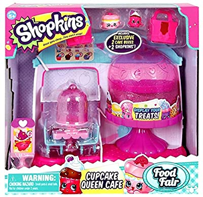Shopkins Cupcake Queen Cafe Playset from Moose Toys