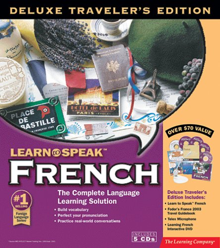 Learn to Speak French Deluxe Traveler s Edition 2003B00006OARG : image