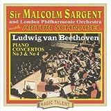 Ludwig Van Beethoven Piano Concertos Nos. 3 And 4 (Sargent, Lpo, Malcolm)