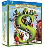 Shrek The Whole Story Quadrilogy (Shrek I-IV & Donkey's Christmas Shrektacular) [Blu-ray] (Bilingual)