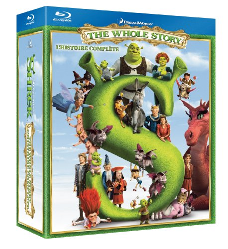 Shrek Quadrilogy (2001-2010) BRRIP - Dual Audio (Eng - Hin) - Team ArG