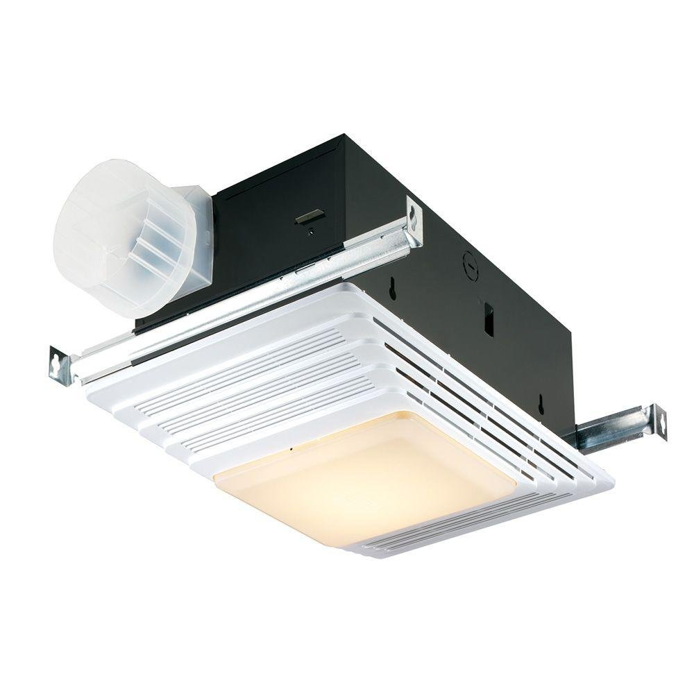 Broan heater bath fan light combination bathroom ceiling for Bathroom ceiling fans