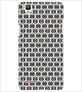 PrintDhaba Pattern D-5923 Back Case Cover for OPPO F1 (Multi-Coloured)
