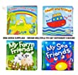 Soft Bath Book Baby Toddler Childs Bathtime Play Floating Educational Toy