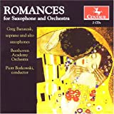 echange, troc Bruzdowicz, Morgan, Hovhaness, Borkowski - Romances for Saxophone & Orchestra