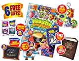 MOSHI MONSTERS MAGAZINE MOSHI MONSTERS MAGAZINE ~ ISSUE 25 ~ FREE GIFTS ~ LIGHT UP KEYRING ~ STICKERS ~ POSTERS ~ MINI MAG