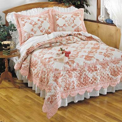 Toile Quilt King Quilts