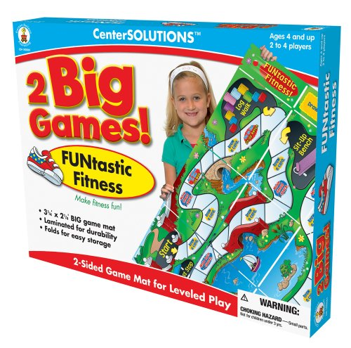 Carson-Dellosa Publishing Two Big Games FUNtastic Fitness
