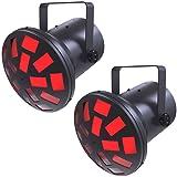 Chauvet Mushroom Plug-and-Play LED Light 2-Pack