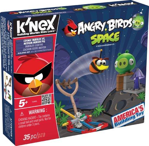 K'nex Angry Birds Space-Cosmic Bubbles Vs. Medium Minion Pig
