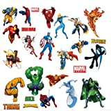 RoomMates RMK1154SCS Marvel Heroes Peel & Stick Wall Decals
