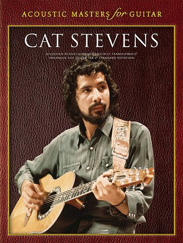 Cat Stevens - Acoustic Masters for Guitar - Book - TAB