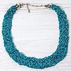 Peacock Woven Necklace