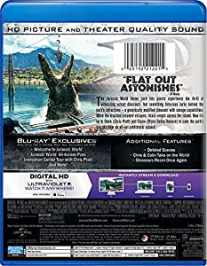 Jurassic World [Blu-ray] by Universal Studios