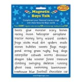 Magnetic Boys Talk Words to complement National Literacy Wordsby Indigo Worldwide Ltd