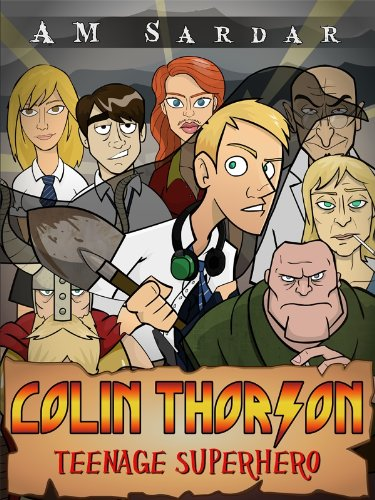 Colin Thorson Teenage Superhero