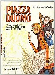 PIAZZA DUOMO PREMIERE ANNEE D'ITALIEN