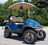 "Club Car Precedent Golf Cart 6"" Lift Kit + 14"" Vector Wheels and 23"" All Terrain Tires (4)"