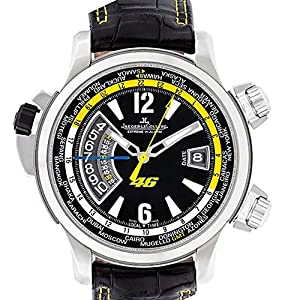 Jaeger LeCoultre Master Compressor automatic-self-wind carbon-fiber mens Watch (Certified Pre-owned)
