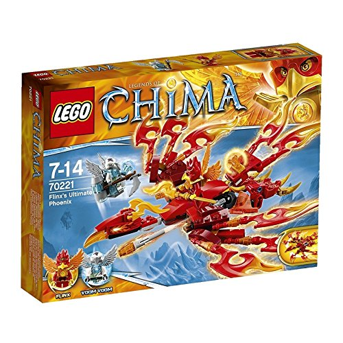 レゴ チーマ フリンクスのファイヤーフェニックス 70221