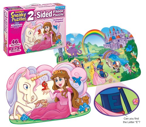 Patch Sneaky 2 Sided Floor Puzzles Enchanted Kingdom