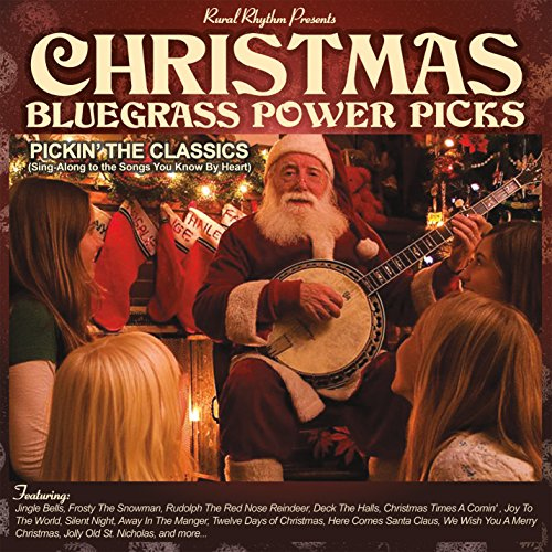 Christmas Bluegrass Power Picks - Picking